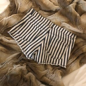 H&M Conscious Collection Striped Shorts